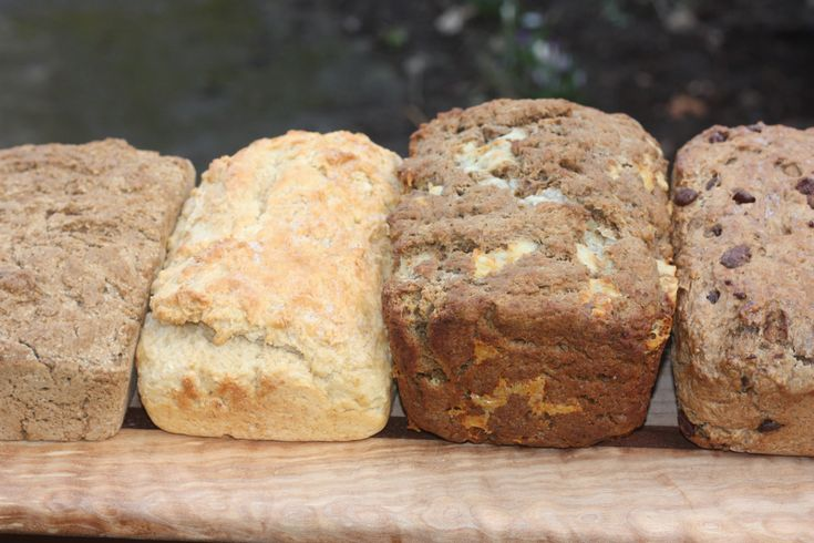 beer bread recipes (including one with chocolate stout)