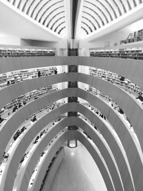 #library #architecture Law Faculty Library in #Zurich by Santiago Calatrava #archisubmission by Muriel Mulier