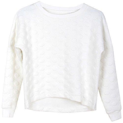 Stoer én lief is deze gave roomwitte sweater uit de Winter 2015-2016 collectie van Grunt