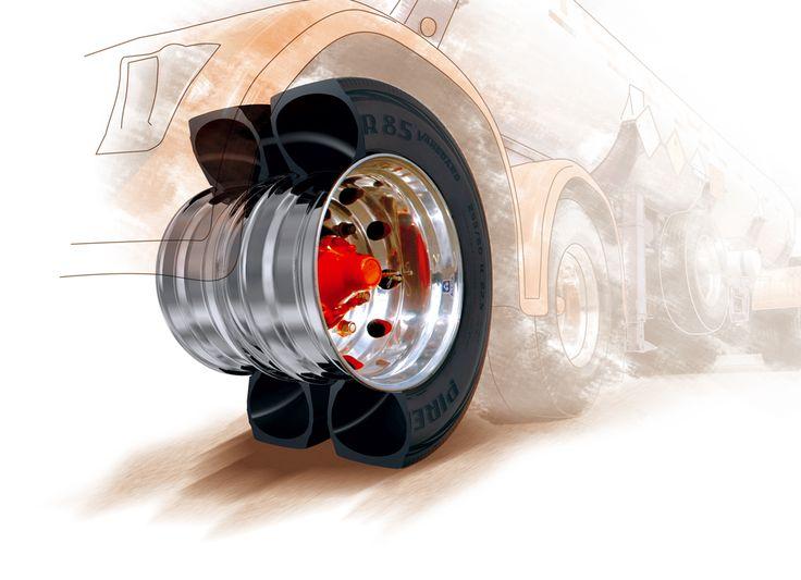 Rodado Duplo Pneu Pirelli Roda Alcoa