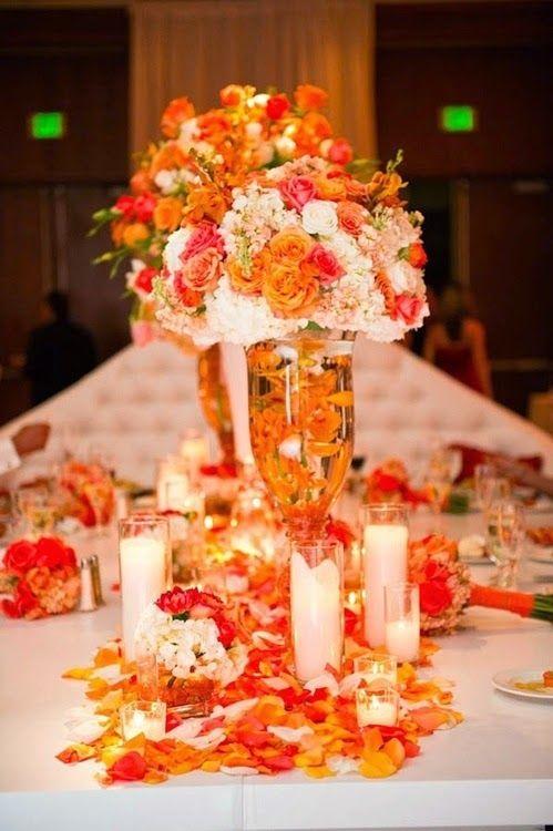 50 best orange wedding theme images on pinterest orange wedding orange wedding decoration httpsimpleweddingstuffspot2014 junglespirit Gallery
