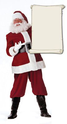 Santa claus christmas #lifesize cardboard standup standee #cutout #poster figure ,  View more on the LINK: 	http://www.zeppy.io/product/gb/2/282082849581/