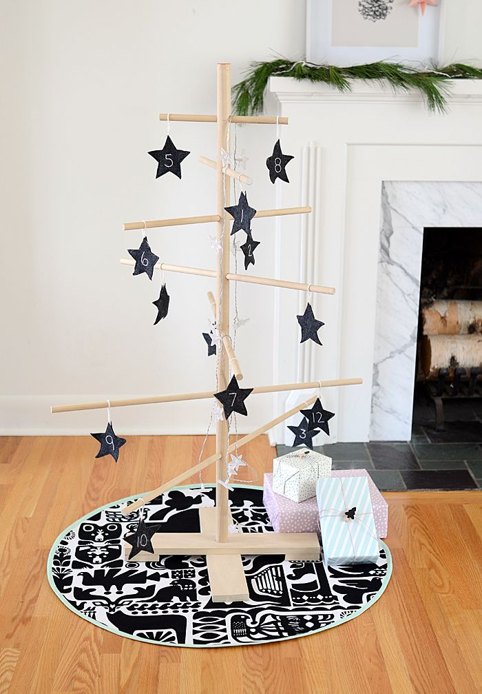 Nalle's House: DIY Scandinavian Christmas Tree Skirt