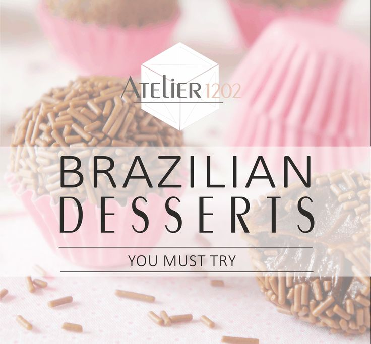 Brazilian Cuisine ¦ The sweets and desserts you must try in Brazil Brigadeiro, Paçoca, and much more!