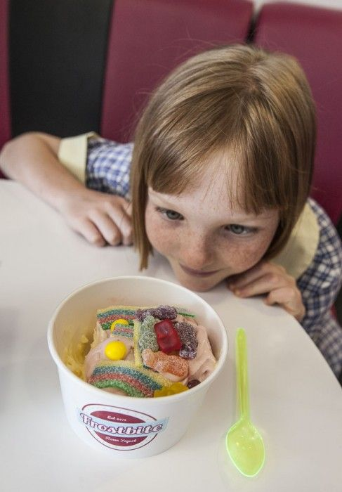 Frostbite Frozen Yoghurt in Dee Why is a really cool Sydney spot for kids!
