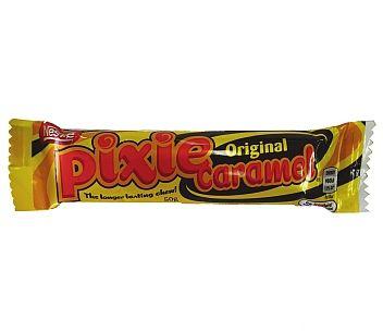 Nestle Pixie Caramel 50g, $2.20 per bar plus postage from Kiwi Shop Online