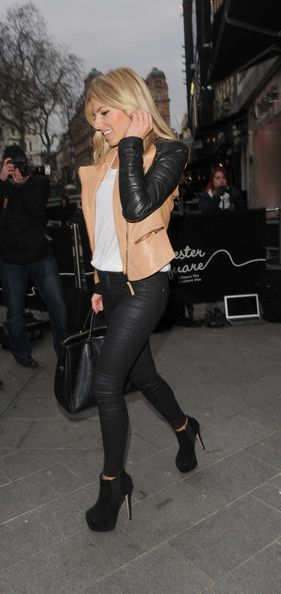 Mollie King, attend the Heart Radio Station's 'Have a Heart' to help raise money for charity in London.