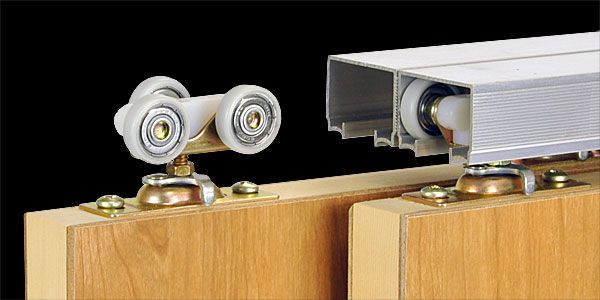 Johnson Hardware® 100SD Sliding Bypass Door Hardware