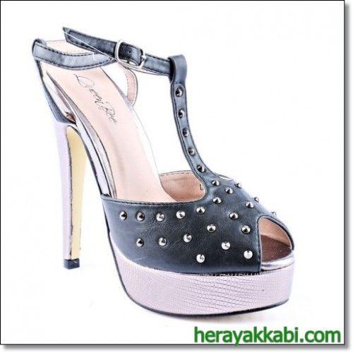Günlük Ucuz Bayan Topuklu Ayakkabı Modelleri