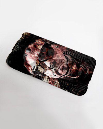 Een uniek kunstwerk als hardcase cover voor jouw mobiele telefoon! #Cover #art #smartphone #timburton #mobile #mixedmedia #forsale #originals