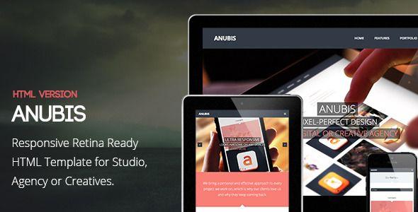 Anubis - Responsive Retina Ready HTML Template