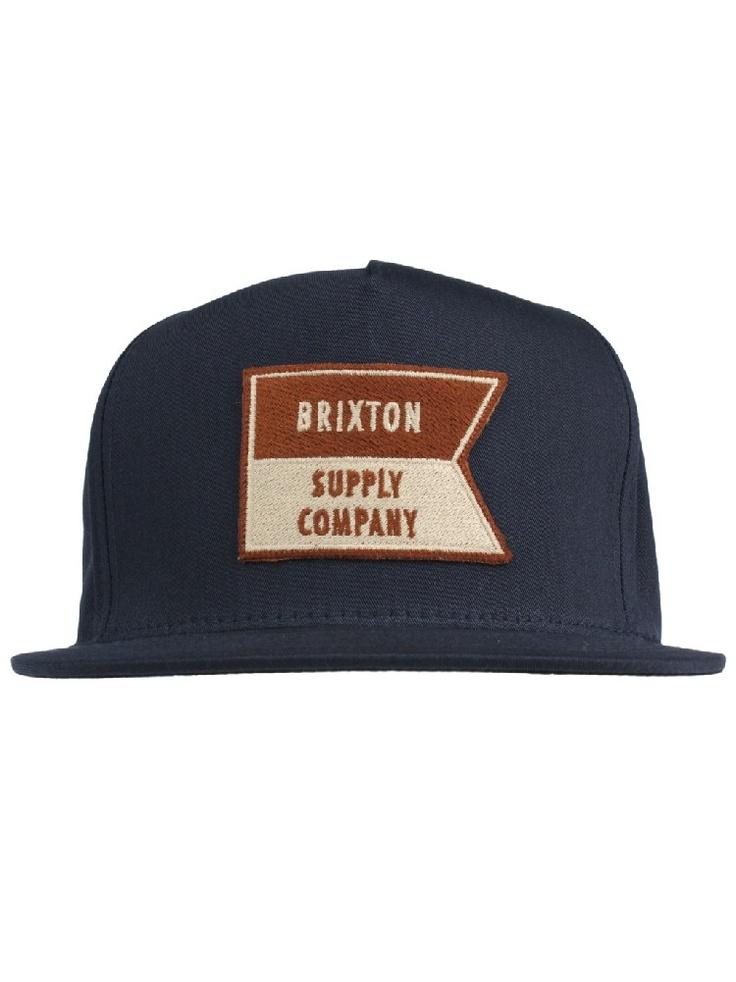 Brixton Clothing Ballast Snapback Hat - Navy $26.00 #brixton