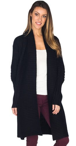 Pattern Movement Cardigan