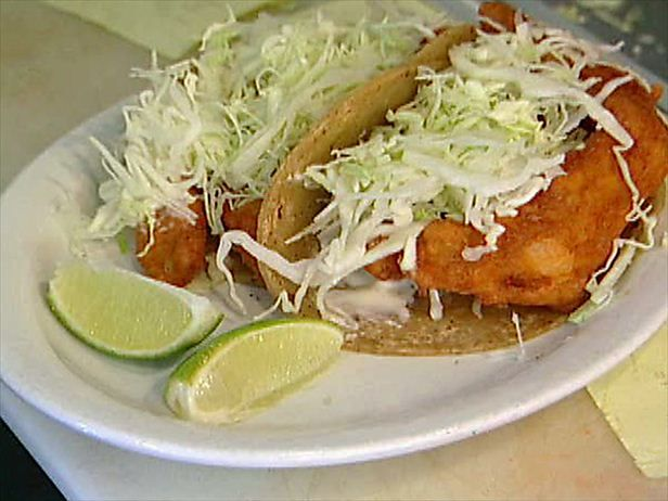 Baja Fish Tacos Recipe : Food Network