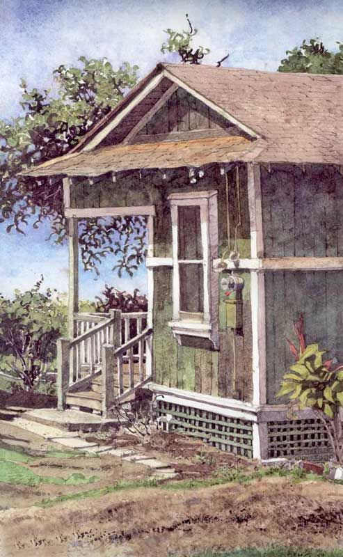 Makawao cane house by eddie flotte the classic sugar for Old plantation homes for sale cheap