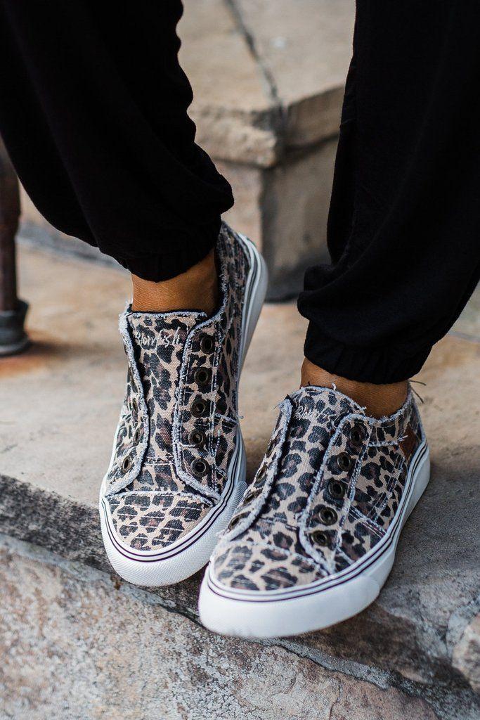 leopard blowfish sneakers