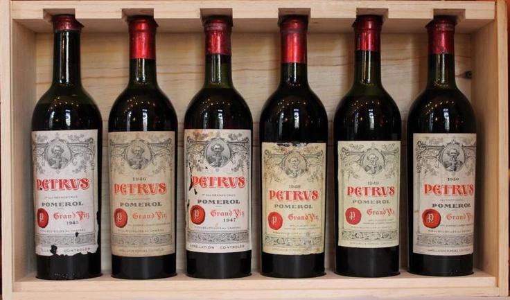 Extraordinaire Petrus wine FOR SALE