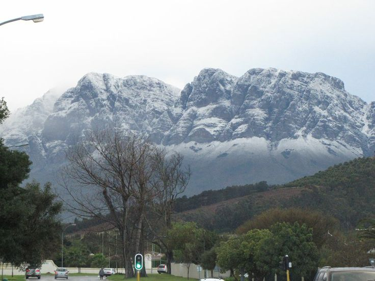 Somerset West, W.Cape Aug 2013 courtesy of Helen Chalmers for SnowReport.co.za