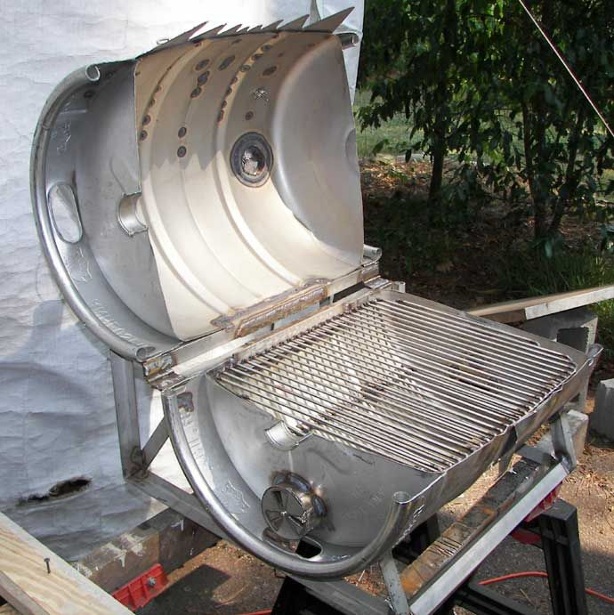 Diy Outdoor Grill Station