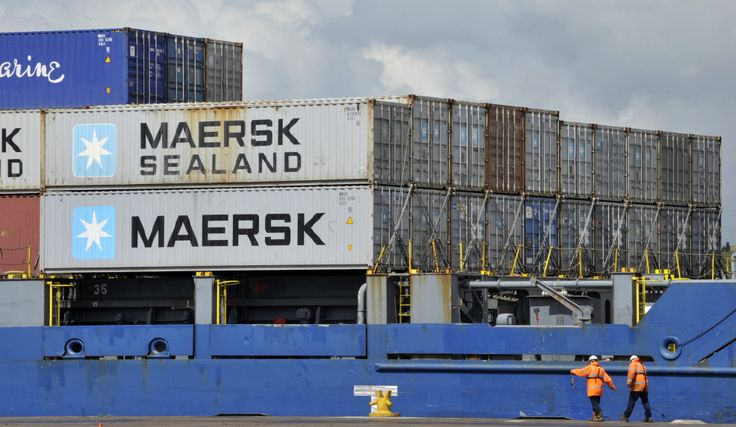 Port's largest ever vessel ready for unloading.