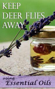 Keep Deer Flies Away using Essential Oils