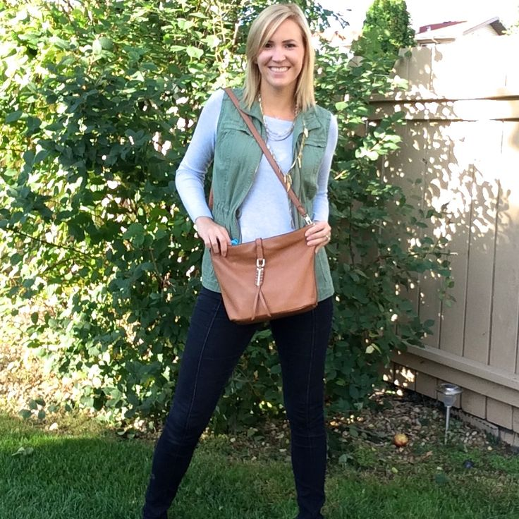 How gorgeous Sunday Bag from Stella & Dot!! It's real leather and goes so…