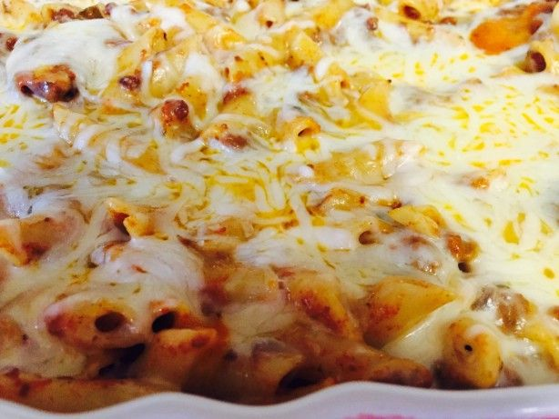 Oven Baked Mostaccioli Recipe - Food.com