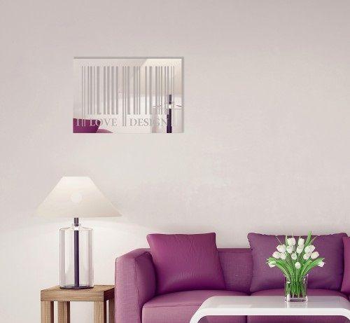 Dekoračné zrkadlo I love design