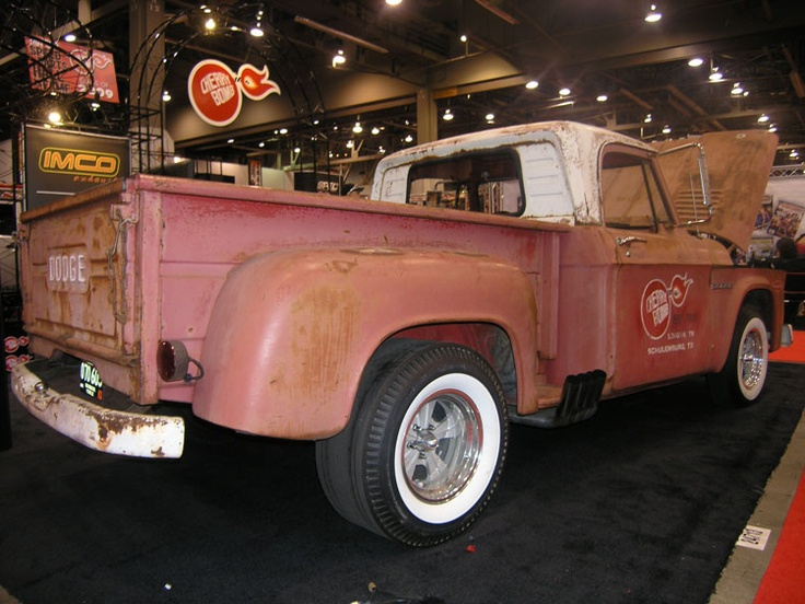 1964 Dodge D-100 with 528 Hemi by Cherry Bomb Exhaust at SEMA 2009 Show