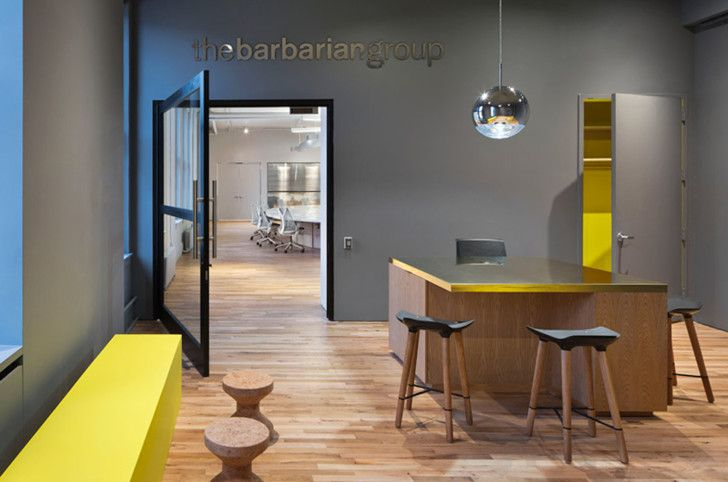 The Barbarian Group's crazy 4,400-sq-ft desk puts your work su...