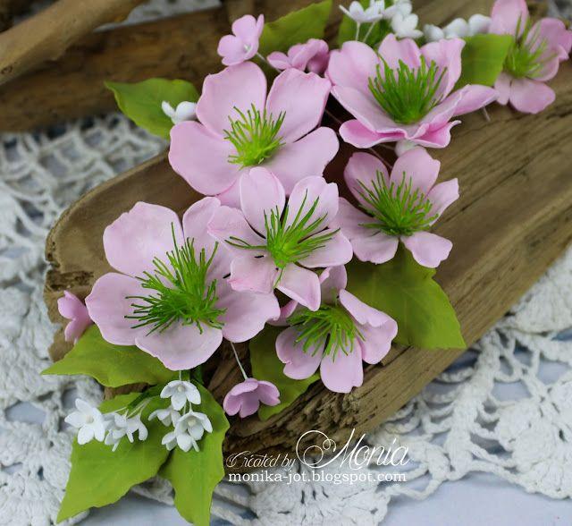 Wiosenne Kwiaty Handmade Flowers Flower Making Flowers