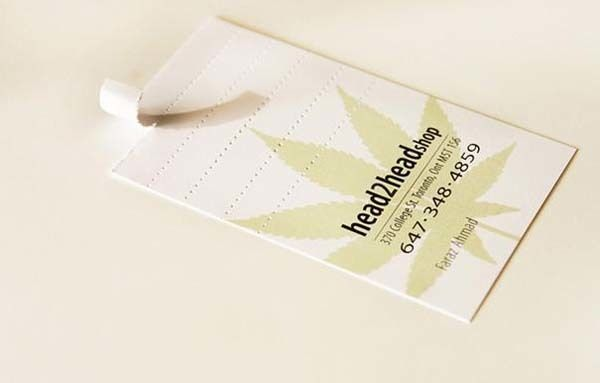 Joint tip business card.
