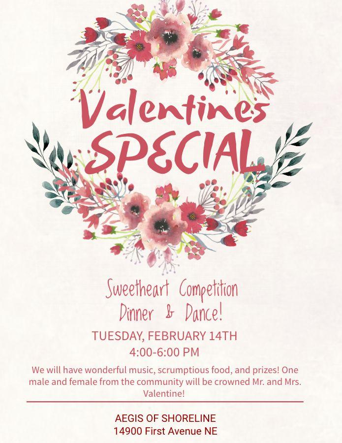 Valentines Day Social Media Poster Flyer Graphic Design Template Valentine Poster Valentines Design Valentines
