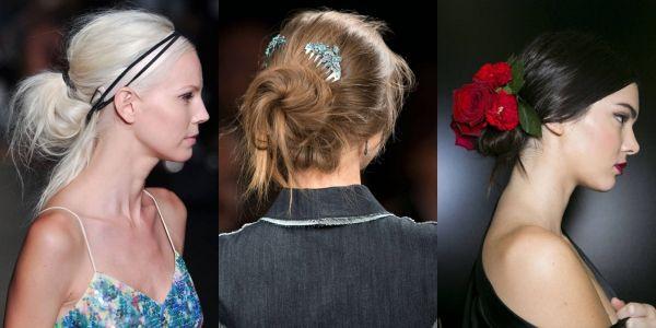 2015 ilkbahar/yaz saç modelleri – Saç aksesuarları