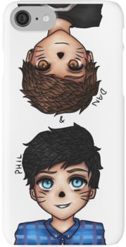 Anime Dan and Phil iPhone 7 Cases