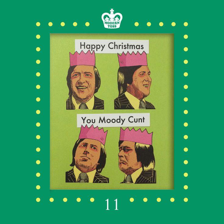 11th December on the Modern Toss advent calendar  #Christmas #Advent