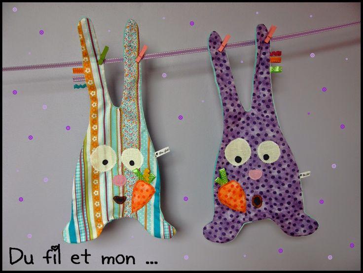 doudou lapin couture facile