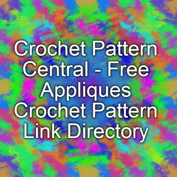 Crochet Pattern Central - Free Appliques Crochet Pattern ...