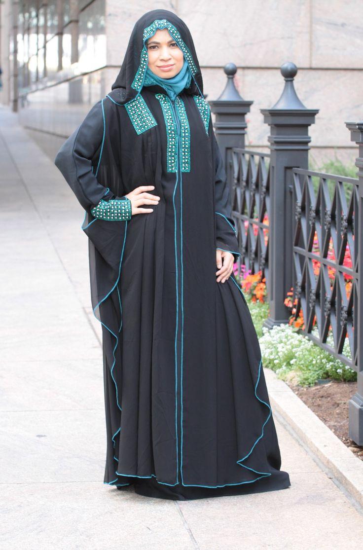Lace umbrella abaya   best Abaya images on Pinterest  Hijab styles Clothing apparel
