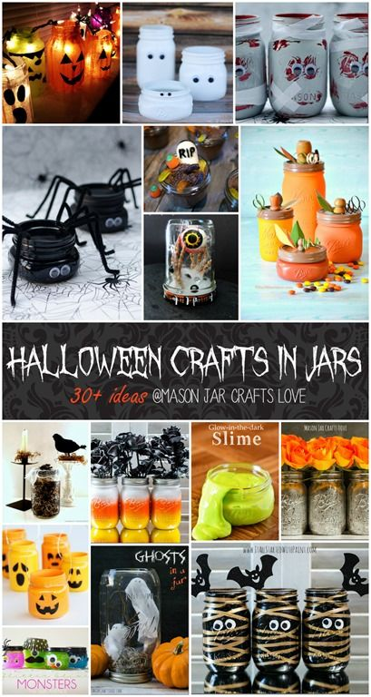 I just love the ideas from Mason Jar Crafts Love! Great work and great network! Halloween is so much better with mason jars!