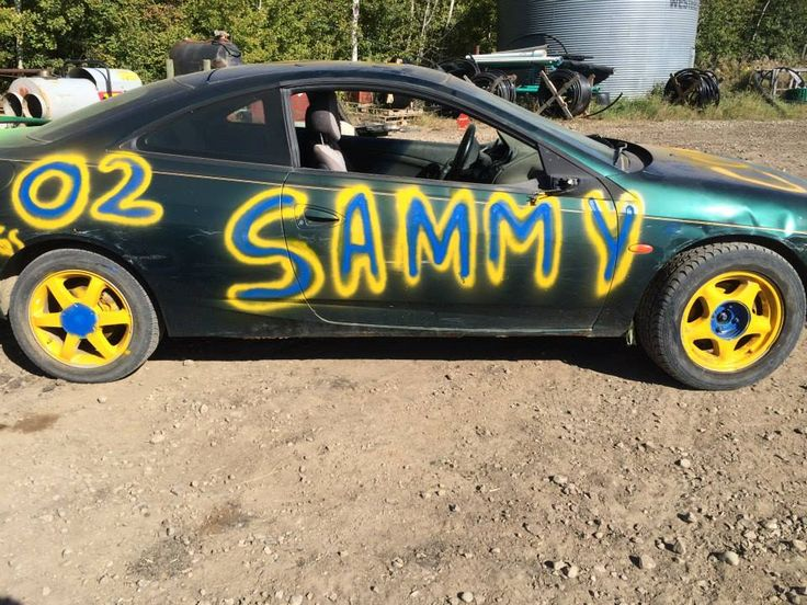 No expense was spared on Sam's custom paint job.