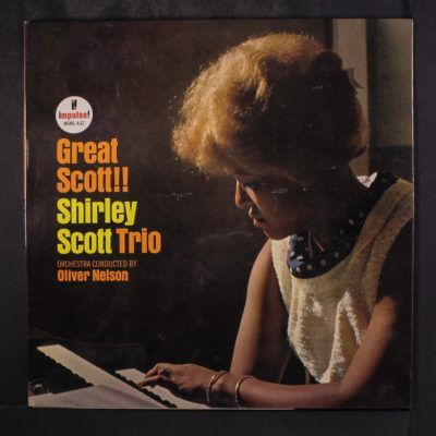 Record of the Day: Shirley Scott Trio - Great Scott!! (1964) -