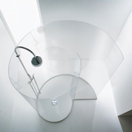 Chiocciola Shower by Benedi Associati
