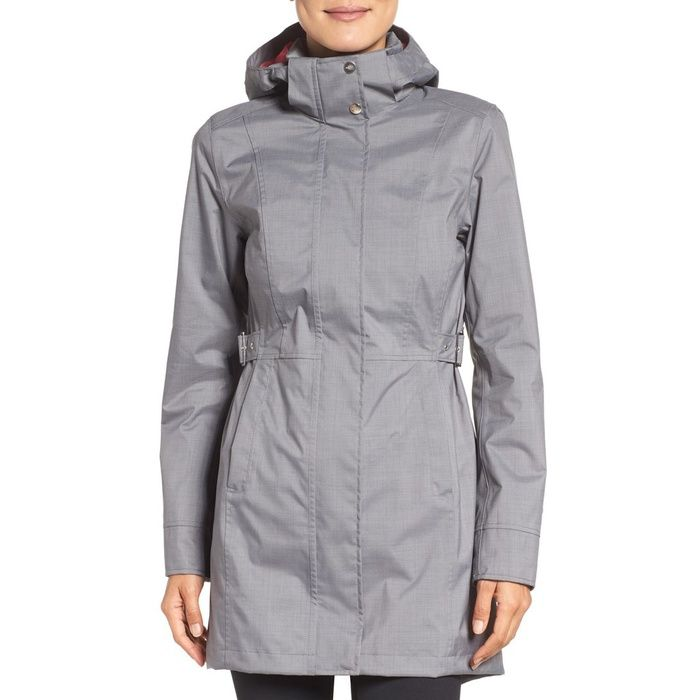 Rank & Style - The North Face Laney Trench Raincoat #rankandstyle