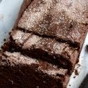 Starbucks' Chocolate Cinnamon Bread - Table for Two -- reduce sugar/sub honey. Whole wheat sprouted flour.