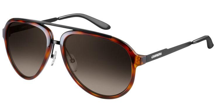 Carrera sunglasses CA96/S, $139, solsticesunglasses.com  Courtesy solsticesunglasses  - HarpersBAZAAR.com