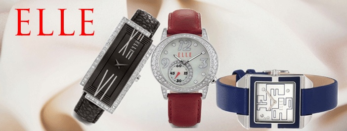 ELLE watches are fashionable, fun and unique. ELLE Watches allow women to express their individualism.  Elle Watches are worn to be sophisticated and chic
