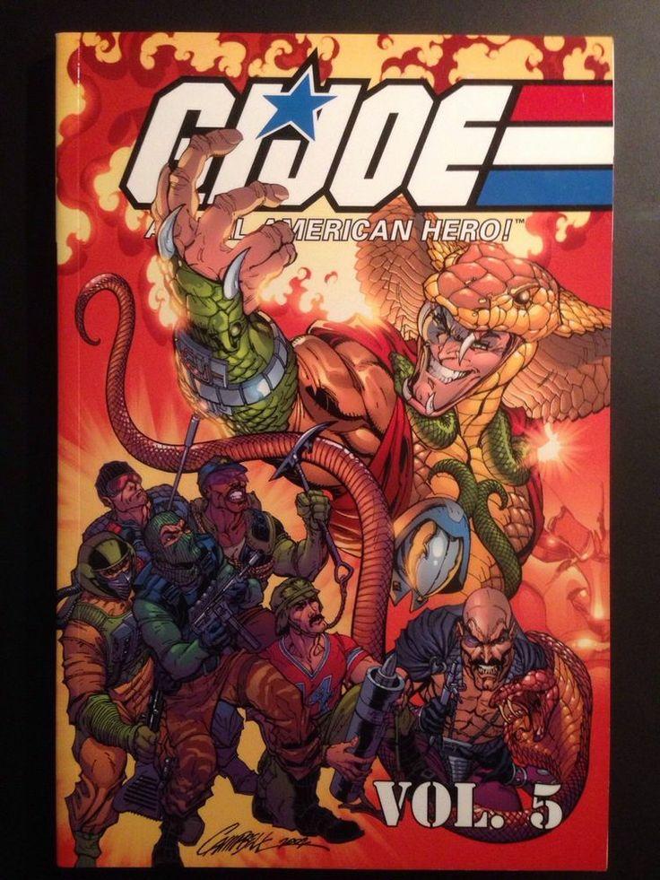 Classic G.I. Joe, Vol. 5 TPB (issues 4150) 1st Serpentor