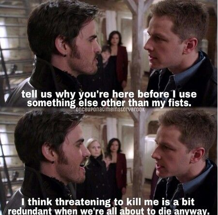 We're all about to die anyway, haha i love Hook :p