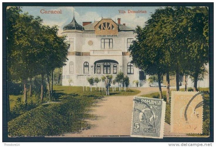 Caracal - Vila Demetrian - interbelica